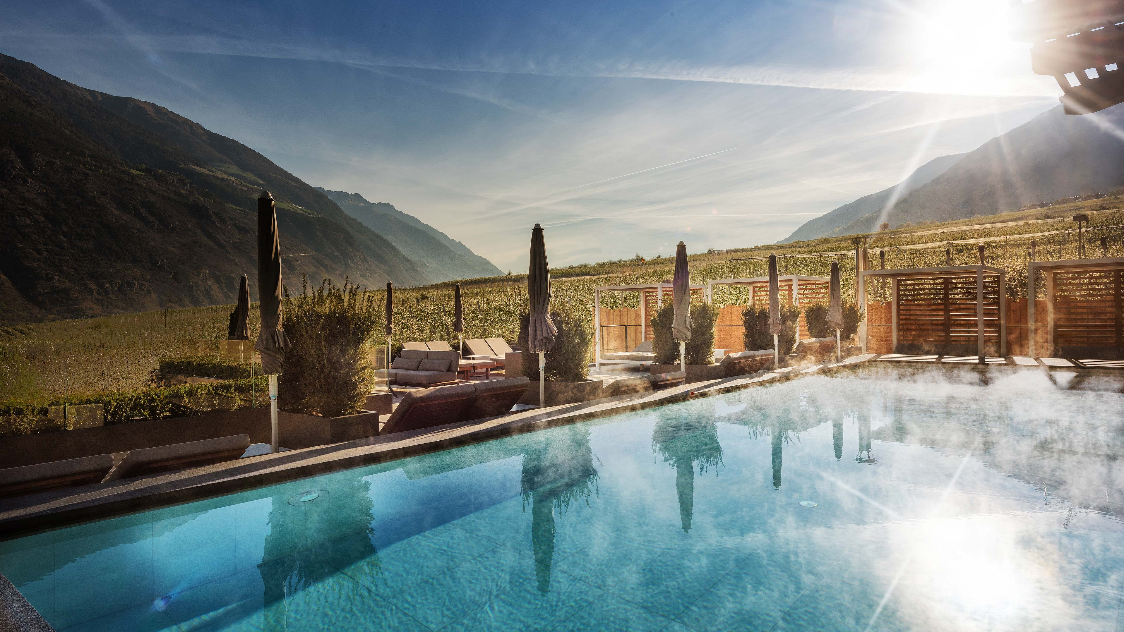 Hotel mit Poolwelt - Vinschgau   5 Sterne - Paradies